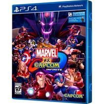 Jogo PS4 Marvel VS Capcom Infinite