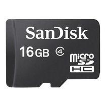 Cartao de Memoria Sandisk Micro SDHC 16GB Classe 4