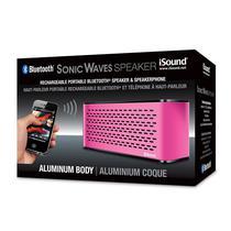 Caixa de Som Isound Sonic Waves Rosa