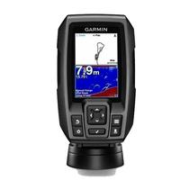 Sonar para Pesca Garmin Striker 4 Plus 010-01870-00 Tela de 4.3 com GPS - Preto