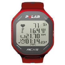 Relogio Monitor Cardiaco Polar RCX5 GPS Red
