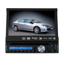 "Reprodutor DVD Automotivo Roadstar RS-7740DTV 7.0"" com TV Analogica/USB - Preto"