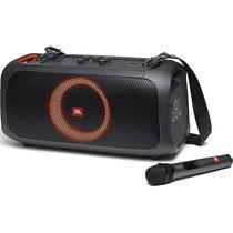 Speaker JBL Party Box On-The-Go com Microfone