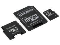 Cartão de Memória Micro SD 8GB Kingston 2X1