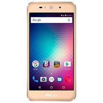 "Smartphone Blu Grand Max G110EQ Dual Sim 8GB Tela 5.0"" 8MP/8MP Os 6.0 - Dourado"