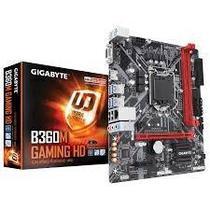 Placa Mãe Gigabyte LGA1151 B360M Gaming HD M.2/HDMI/VGA