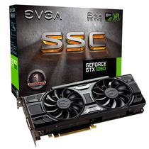 Placa de Vídeo EVGA SSC Geforce GTX 1060 de 6GB GDDR5 HDMI/DVI-DL/Displayport