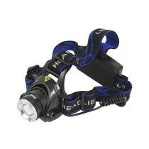 Lanterna de Cabeca X-Tech XT-LL3155 Recarregavel - Preto/Azul