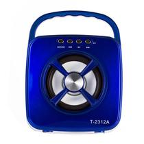 Caixa de Som Portatil X-Tech XT-SB2312 Bluetooth / USB / Cartao SD / FM - Azul
