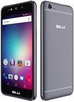 """Smartphone Blu Grand Max Dual Sim 3G Tela 5.0"""" Cpu 4Core Cam. 8MP+8MP Cinza"""