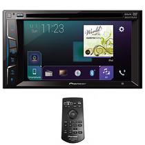 """Reprodutor DVD Automotivo Pioneer AVH-Z2050TV 6.2"""" com Bluetooth/USB/TV - Preto"""