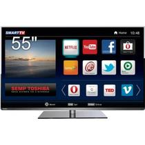 "Smart TV LED Toshiba 55"" 55L5400 Full HD 2K PVR Dtvi Ready USB Link Wifi"