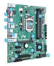 Placa Mãe Asus LGA1151 B250M-C Prime VGA/HDMI/DVI