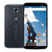 "Smartphone Motorola Nexus 6 XT1100 5.9"" 3GB Ram, 32GB Rom, 4G, Camera 13MP - Azul Escuro"