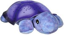 Abajur Infantil Cloud-B Twilight Turtle Tartaruga - Roxo