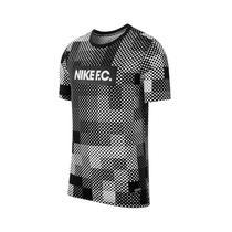 Camiseta Nike Masculina Tee FC Seasonal Block Preta/Branca