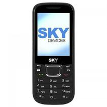 "Celular SKY Devices F3G Dualsim 2,4"" 1000MAH VGA - Preto"