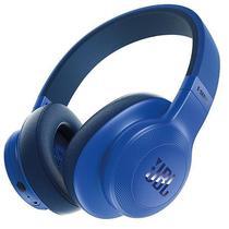 Fone de Ouvido Sem Fio JBL E55BT com Bluetooth/Microfone  Azul