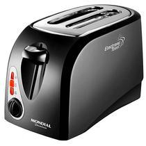 Torradeira Mondial Eletronic Toast Premium T-03 800W/6 Temperaturas/127V - Preta