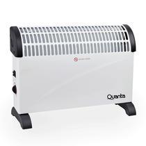 Aquecedor Eletrico Convector Quanta QTACV20 1500W / 110V / 60HZ / 3 Temperaturas - Branco