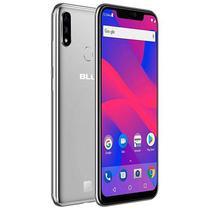 "Smartphone Blu Vivo Xi V0310WW Dual Sim 64GB Tela 6.2"" 16 5MP/16MP Os 8.1 - Prata"