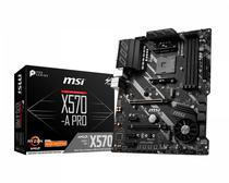 Placa Mãe AM4 MSI X570-A Pro