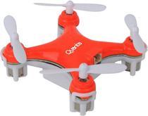 Mini Drone Quanta QTPDR2035 - com Luzes LED para Voo Noturno - Vermelho
