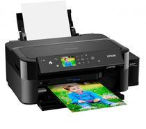 Impressora Jato de Tinta Epson L810 - Impressao de Custo Ultrabaixo - Bivolt - Preto