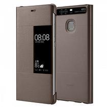 Capinha para P9 Lite Huawei Smart View Flip Cover 51991511 - Marrom