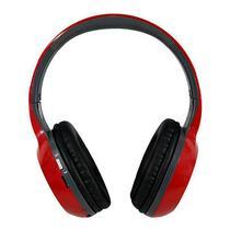 Headphone MP3 Quanta QTMHP1500 Bluetooth Vermelho