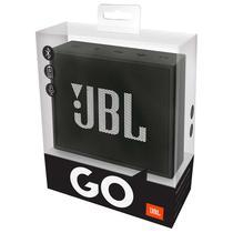 Caixa de Som JBL Go com Bluetooth/Auxiliar Bateria 600 Mah - Preto