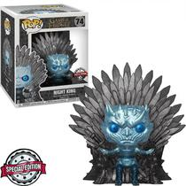Boneco Funko Pop Game Of Thrones - Deluxe Night King Metallic Exclusive 74