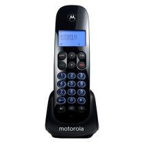 Telefone Sem Fio Motorola M750 com Identificador de Chamadas e Teclado Iluminado - Preto