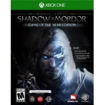 Jogo Shadow Of Mordor Game Of The Year Xbox One