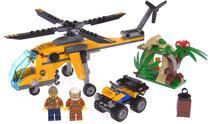 Lego City Jungle Cargo Helicopter 60158 201 Pecas