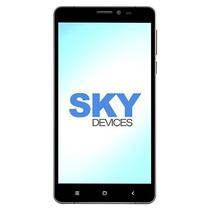 "Smartphone SKY Devices Elite 6.0L Dual Sim 8GB Tela 6.0"" 13MP/8MP Os 5.1 - Cinza"