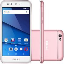 """Smartphone Blu Grand X Lte Dual Sim Tela 5.0""""HD Cam. 8MP+5MP Rose"""