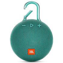 Caixa de Som JBL Clip 3com Bluetooth/Auxiliar Bateria 1.000 Mah - Teal