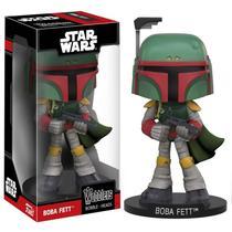 Boneco Funko Wacky Wobbler Star Wars - Boba Fett