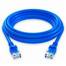 Cabo de Rede Quanta QTCRC502 2M/ CAT5 Ethernet/2 RJ45/5 MM-Azul