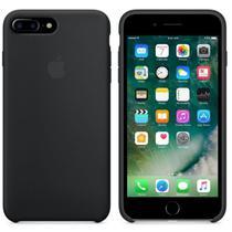 Capa de Silicone para iPhone 7 Plus - Preta
