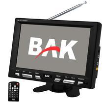 """Tela Automotiva de 8.0"""" BAK BK-TFT-8140TV com Mini Jack 3.5 MM - Preta"""