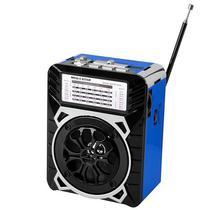 Radio Portatil AM/FM/SW 1-7 Megastar RX-9133 9 Bandas 500 Watts Pmpo - Azul