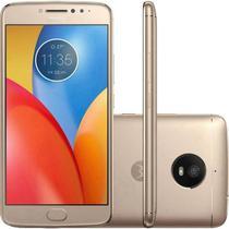 """Smartphone Motorola Moto E4 XT1762 2GB+16GB Lte Dual Sim 5.0"""" Cam.8MP+5MP-Dourado"""