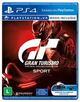 Jogo GT Gran Turismo Sport VR - PS4