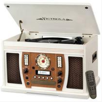 Toca Disco Victrola VTA-750B WHT 7IN-1 Branco