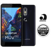 Celular Quantum Muv Pro Q5 Dual 32GB/2GB Anatel (Gtia 1 Ano BR) Azul
