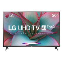 "TV Smart LED LG 50UN7310 50"" 4K Ultra HD Thinq Ai Wifi - Preto"