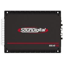 Amplificador Soundigital SD-800.4D - 10000W - 4 Canais
