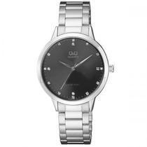 Relogio Qeq QA09J202Y Silver/Black
